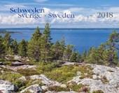 Schweden 2018 Großformat-Kalender 58 x 45,5 cm
