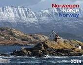 Norwegen 2018 Großformat-Kalender 58 x 45,5 cm