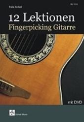 12 Lektionen Fingerpicking-Gitarre