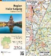 Regionalkarte 1 : 200 000 Blatt Halle-Leipzig