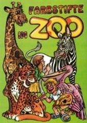 Farbstifte im Zoo - Malbuch