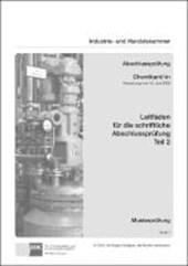 PAL-Leitfaden für die gestreckte Abschlussprüfung Teil 2 - Chemikant/-in
