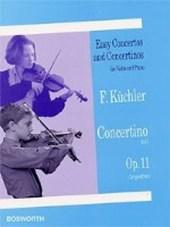 Concertino in G-Dur, Op. 11 für Violine & Klavier