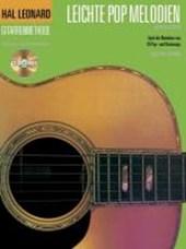 Hal Leonard Gitarrenmethode: Leichte Pop Melodien
