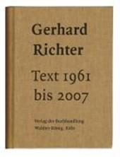 Text 1961 bis 2007. Sonderausgabe