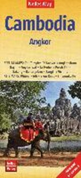 Nelles Map Cambodia - Angkor 1 : | auteur onbekend |