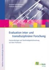 Evaluation inter- und transdisziplinärer Forschung