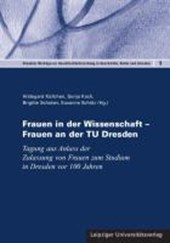 Frauen in der Wissenschaft - Frauen an der TU Dresden