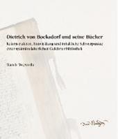Dietrich von Bocksdorf und seine Bücher