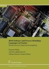 BPM Software and Process Modelling Languages in Practice | Susanne Patig |