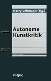 Autonome Kunstkritik