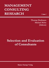 Selection and Evaluation of Consultants