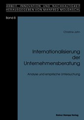 Internationalisierung der Unternehmensberatung