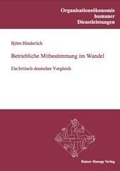 Betriebliche Mitbestimmung im Wandel: Ein britisch-deutscher Vergleich