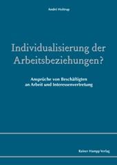 Individualisierung der Arbeitsbeziehungen?
