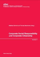 Corporate Social Responsibility und Corporate Citizenship