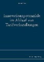 Innovationspotenziale im Ablauf von Tarifverhandlungen