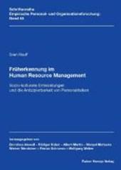Früherkennung im Human Resource Management