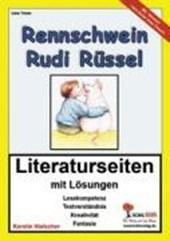 Rennschwein Rudi Rüssel / Literaturseiten
