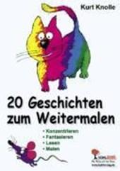 20 Geschichten zum Weitermalen / Band 1 (1.-2. Sj.)