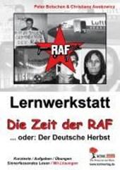 """Lernwerkstatt """"Die Zeit der RAF"""""""