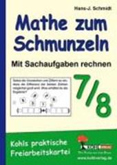 Mathe zum Schmunzeln - Sachaufgaben / 7.-8. Schuljahr