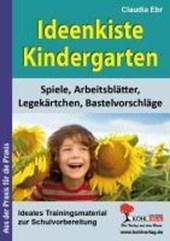Ideenkiste Kindergarten Spiele, Arbeitsblätter, Legekärtchen und Bastelvorschläge