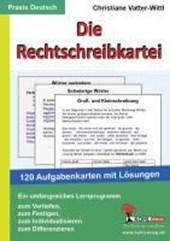 Die Rechtschreibkartei 120 Aufgabenkarten mit Lösungen