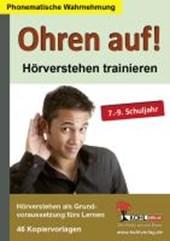 Ohren auf! - Hörverstehen trainieren 7.-9. Schuljahr
