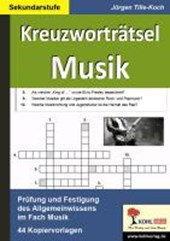 Kreuzworträtsel Musik