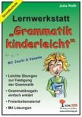 Lernwerkstatt - Grammatik kinderleicht