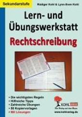 Lern- & Übungswerkstatt Rechtschreibung