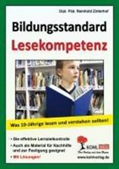 Bildungsstandard Lesekompetenz Was 10-Jährige lesen und verstehen sollten!