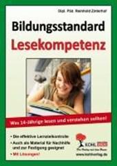 Bildungsstandard Lesekompetenz