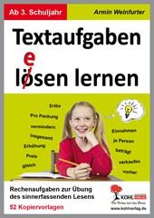 Textaufgaben l(ö)esen lernen