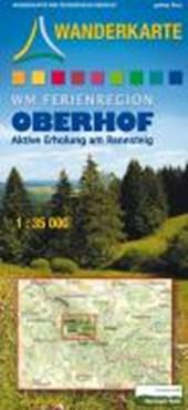 WM Ferienregion Oberhof 1 : 35 000 Wanderkarte