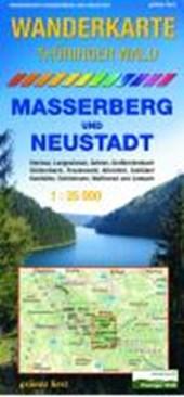 Thüringer Wald Masserberg und Neustadt 1 : 35 000 Wanderkarte