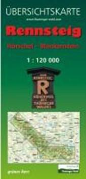 Rennsteig 1  120 000 Übersichtskarte