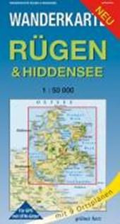 Rügen & Hiddensee 1 : 50 000 Wanderkarte
