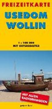 Usedom - Wollin 1 : 100 000 Freizeitkarte