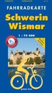 Fahrradkarte Schwerin - Wismar 1 : 75 000 Fahrradkarte