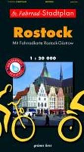 Rostock Fahrrad-Stadtplan