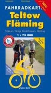 Teltow-Fläming Fahrradkarte 1 :