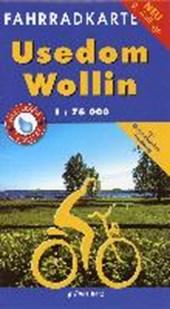 Usedom - Wollin 1 : 75 000 Fahrradkarte