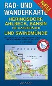 Heringsdorf, Ahlbeck, Bansin 1 : 30 000. Rad- und Wanderkarte. Die Kaiserbäder und Swinemünde