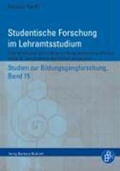 Studentische Forschung im Lehramtsstudium