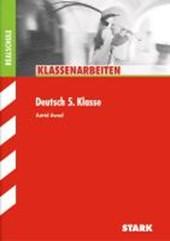 Klassenarbeiten Deutsch 5. Klasse Realschule