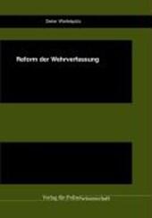Reform der Wehrverfassung