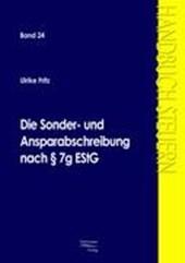Die Sonder- und Ansparabschreibung nach § 7g EStG
