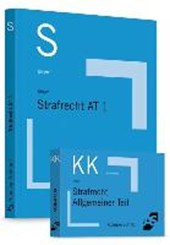 Paket Krüger, Skript Strafrecht AT 1 + Krüger, Karteikarten Strafrecht AT